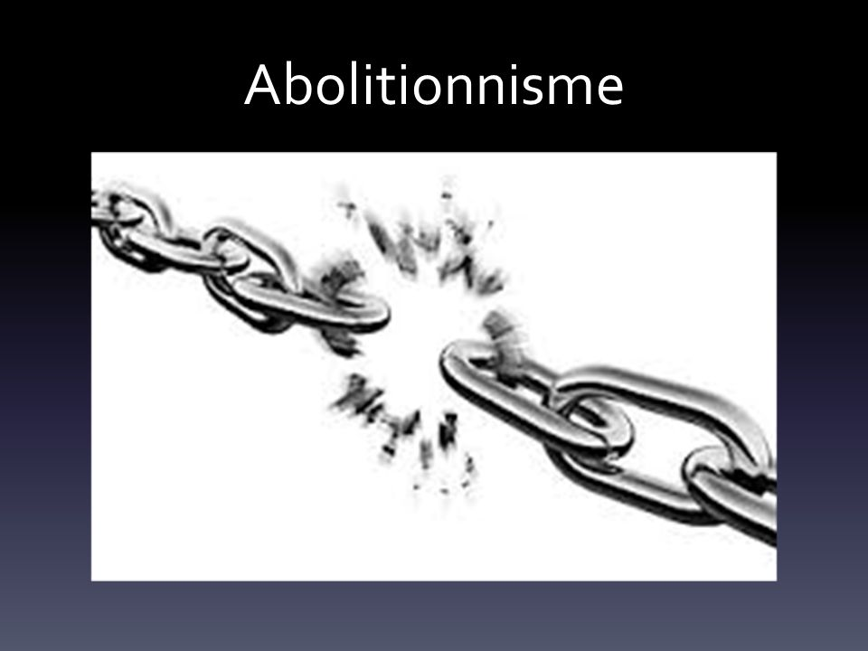 Abolitionnisme