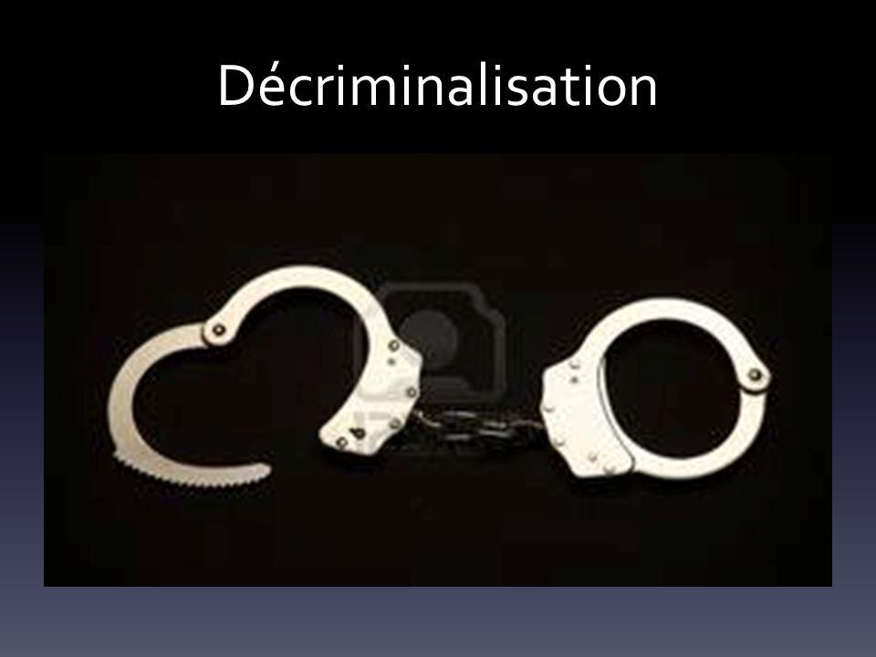 Décriminalisation