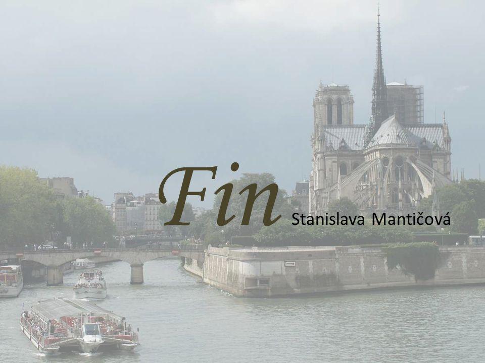 Fin Stanislava Mantičová
