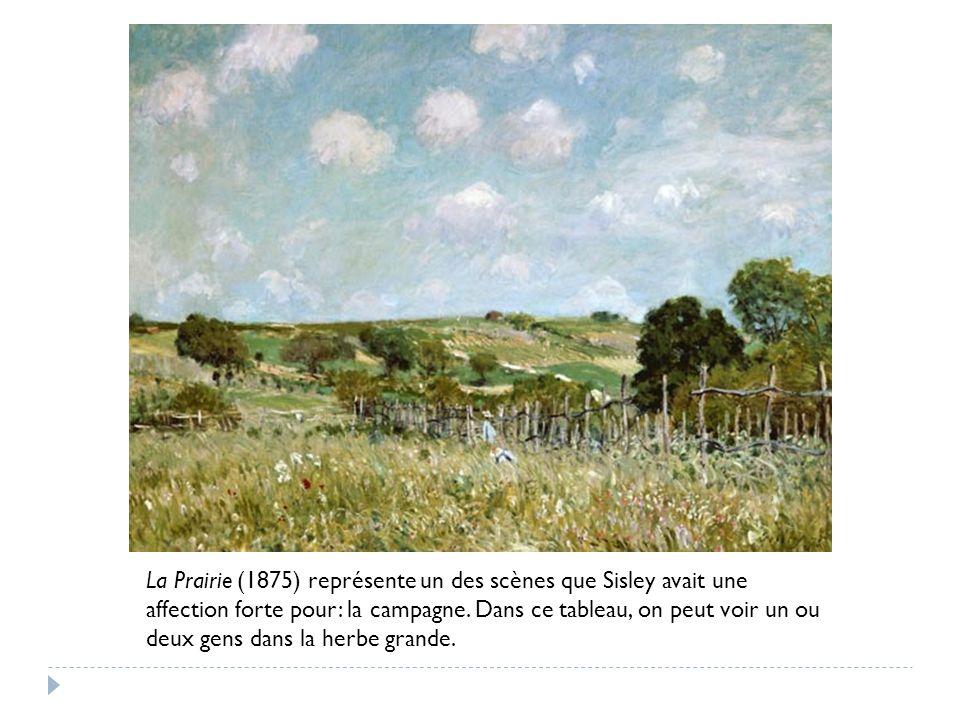 « Alfred Sisley La Prairie . » Google Images. 16 Avril 2012.
