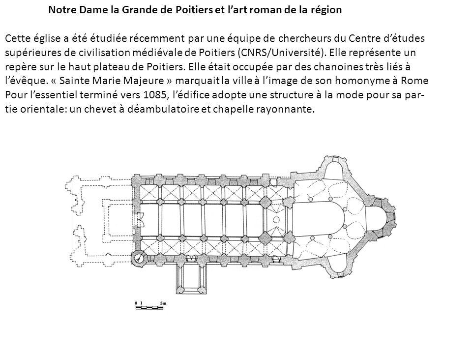 Notre Dame la Grande de Poitiers et l'art roman de la région