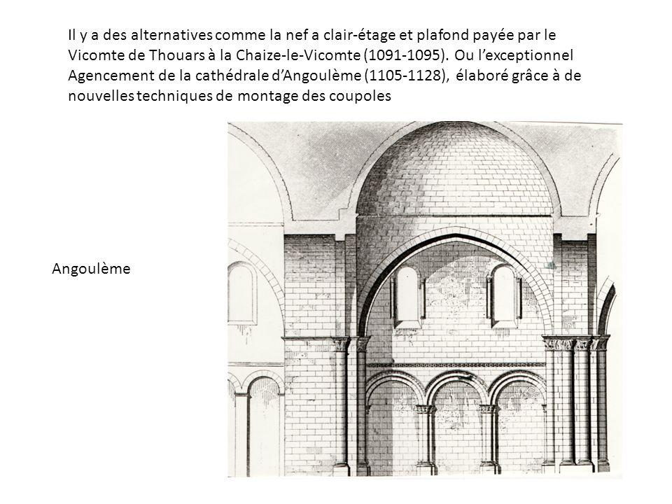 Il y a des alternatives comme la nef a clair-étage et plafond payée par le