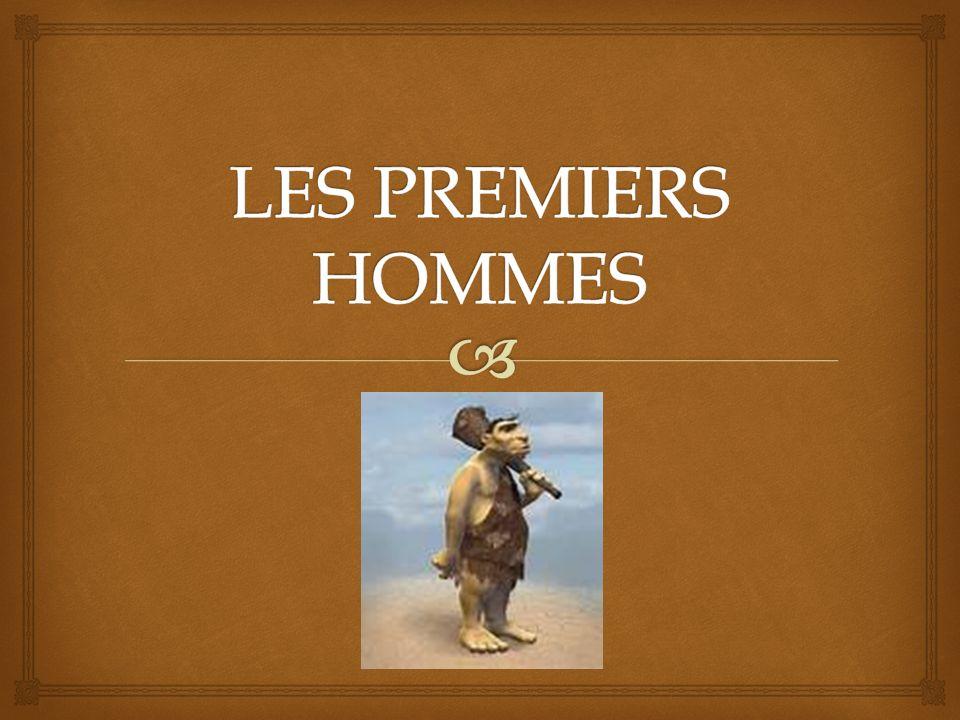 LES PREMIERS HOMMES