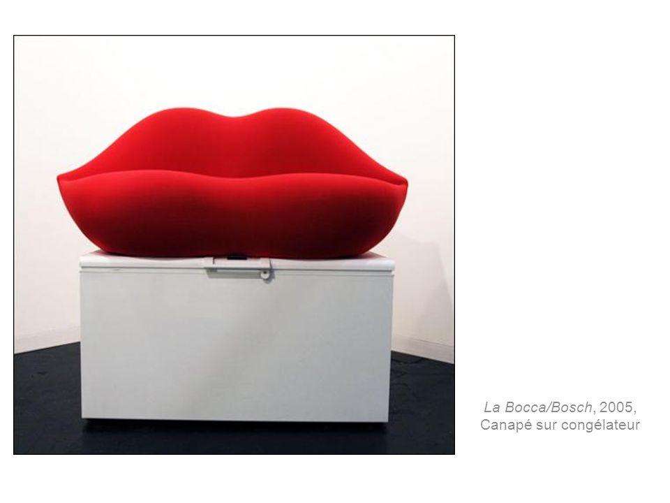 La Bocca/Bosch, 2005, Canapé sur congélateur