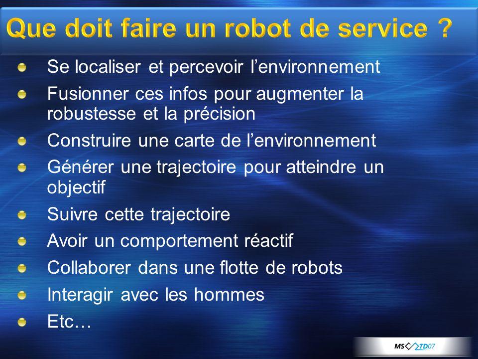 Que doit faire un robot de service