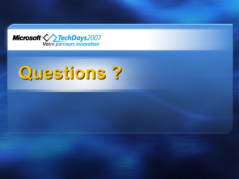 3/31/2017 3:30 AM Questions © 2005 Microsoft Corporation. All rights reserved.