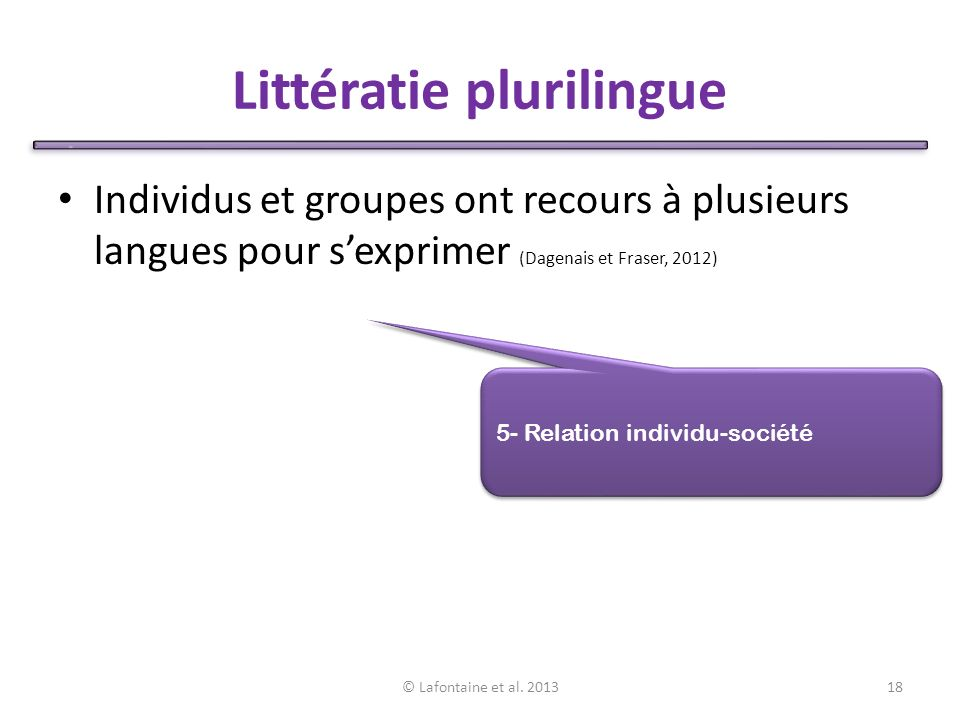 Littératie plurilingue