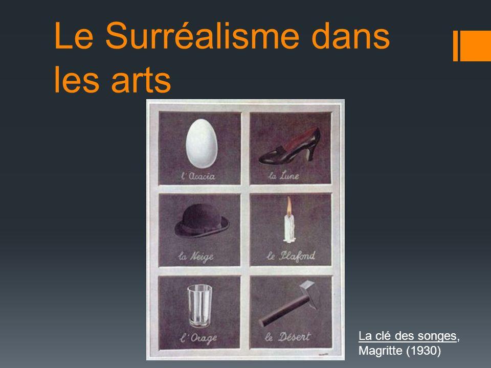 Le Surréalisme dans les arts