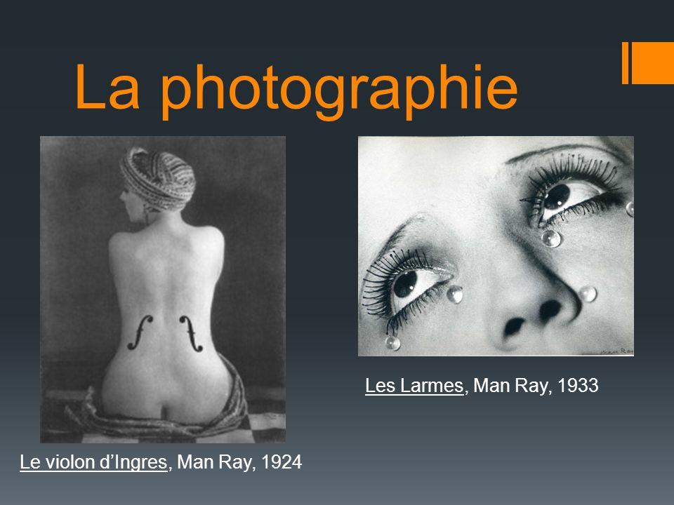 La photographie Les Larmes, Man Ray, 1933