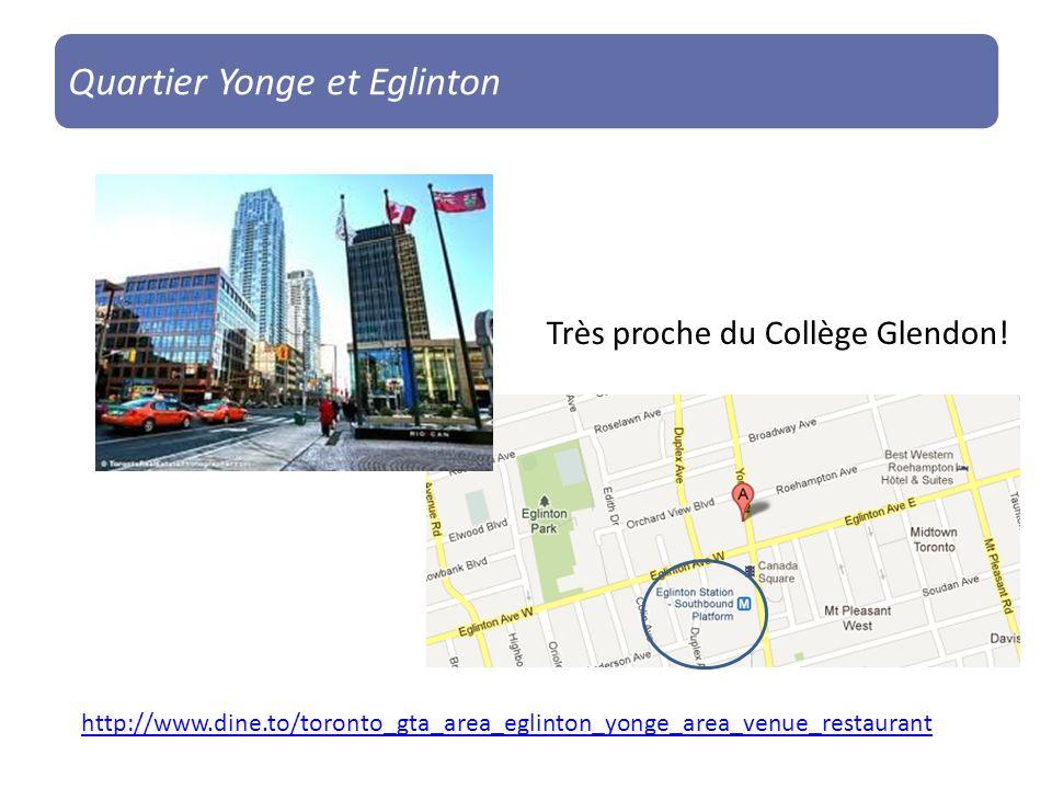 Quartier Yonge et Eglinton