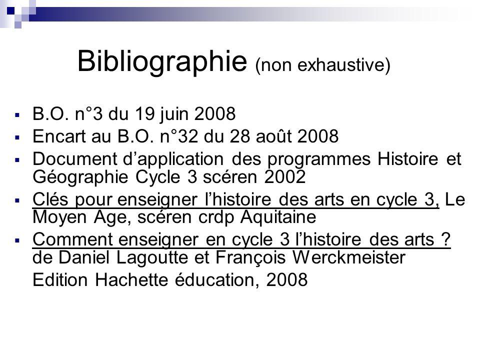 Bibliographie (non exhaustive)