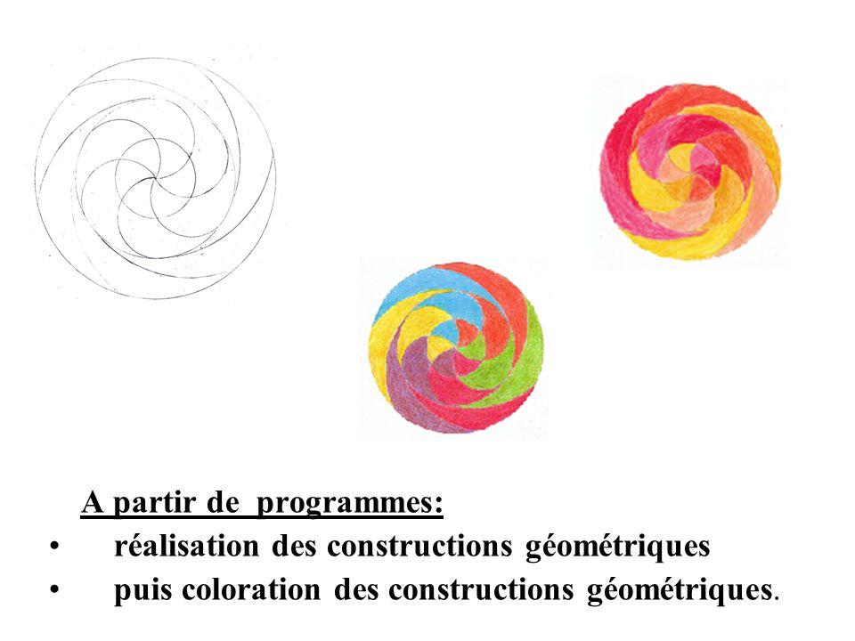 réalisation des constructions géométriques