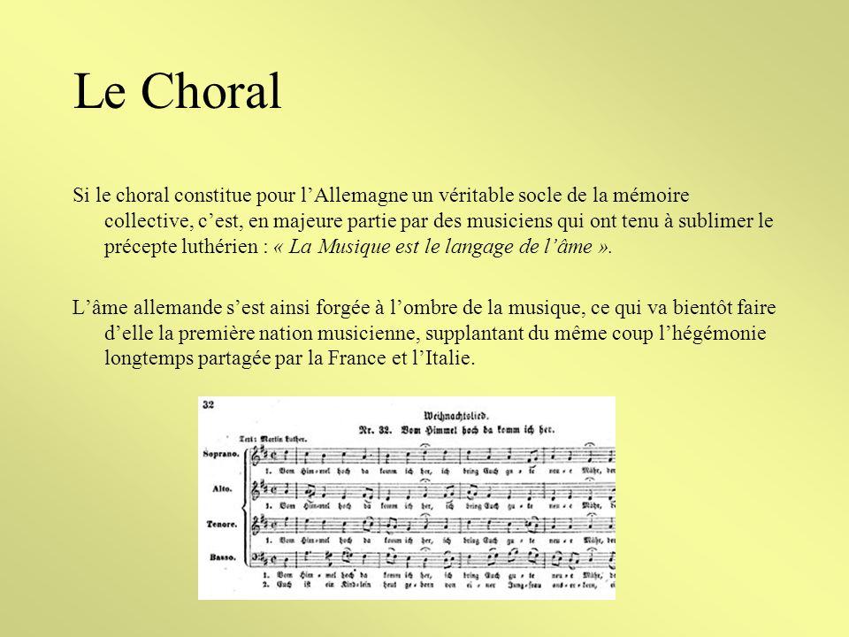 Le Choral