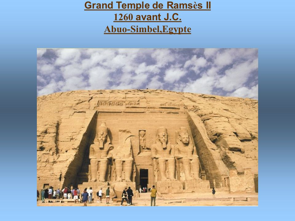 Grand Temple de Ramsès II