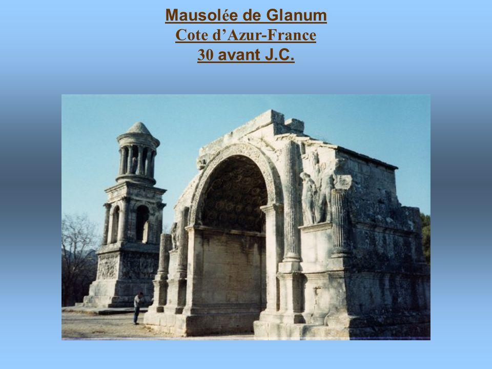 Mausolée de Glanum Cote d'Azur-France 30 avant J.C.