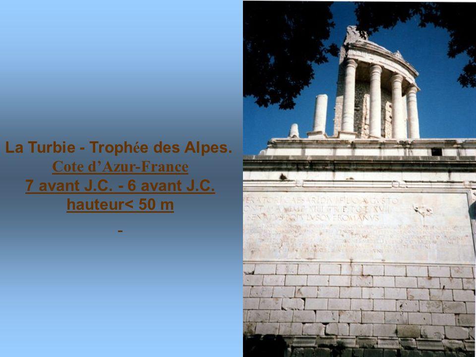 La Turbie - Trophée des Alpes.