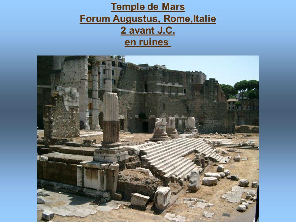 Forum Augustus, Rome,Italie