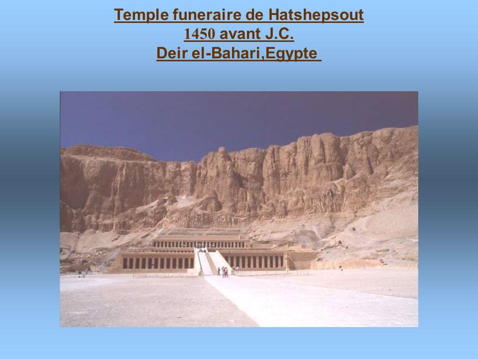 Temple funeraire de Hatshepsout