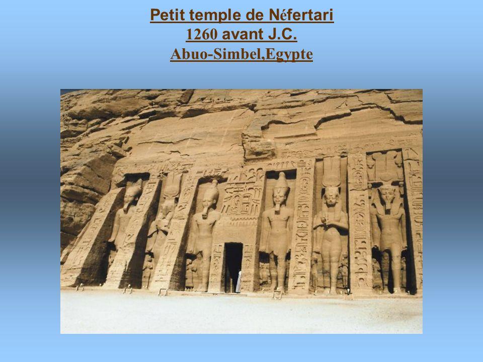 Petit temple de Néfertari