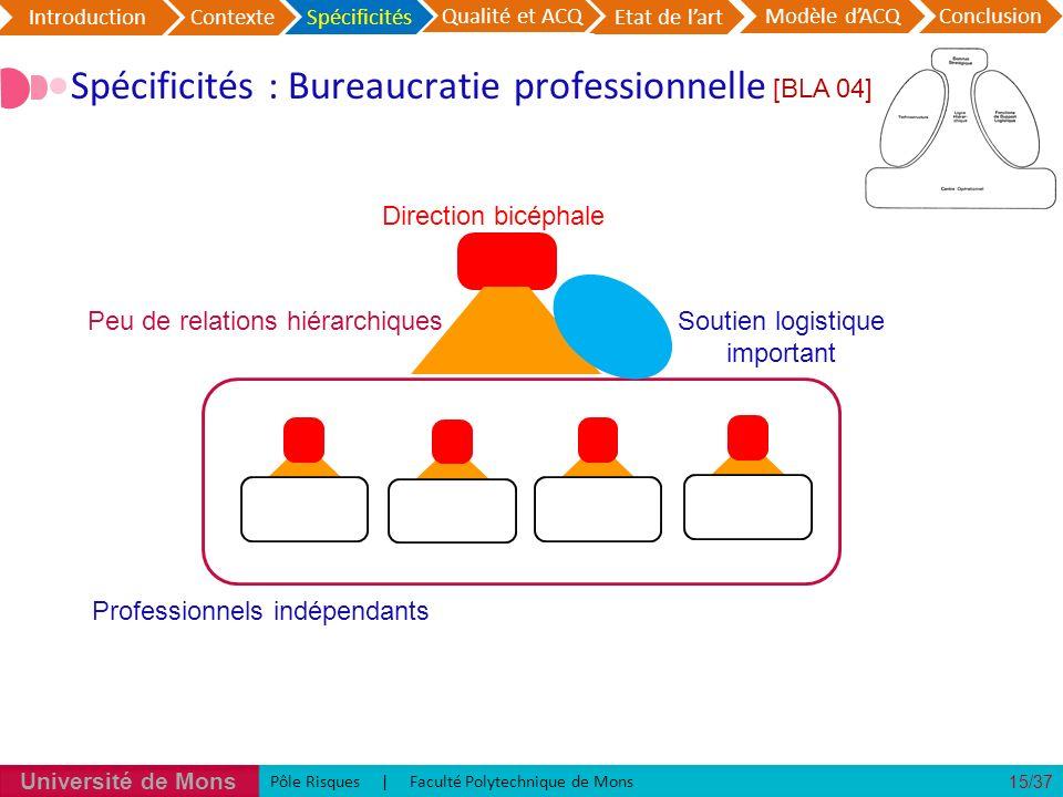 Spécificités : Bureaucratie professionnelle