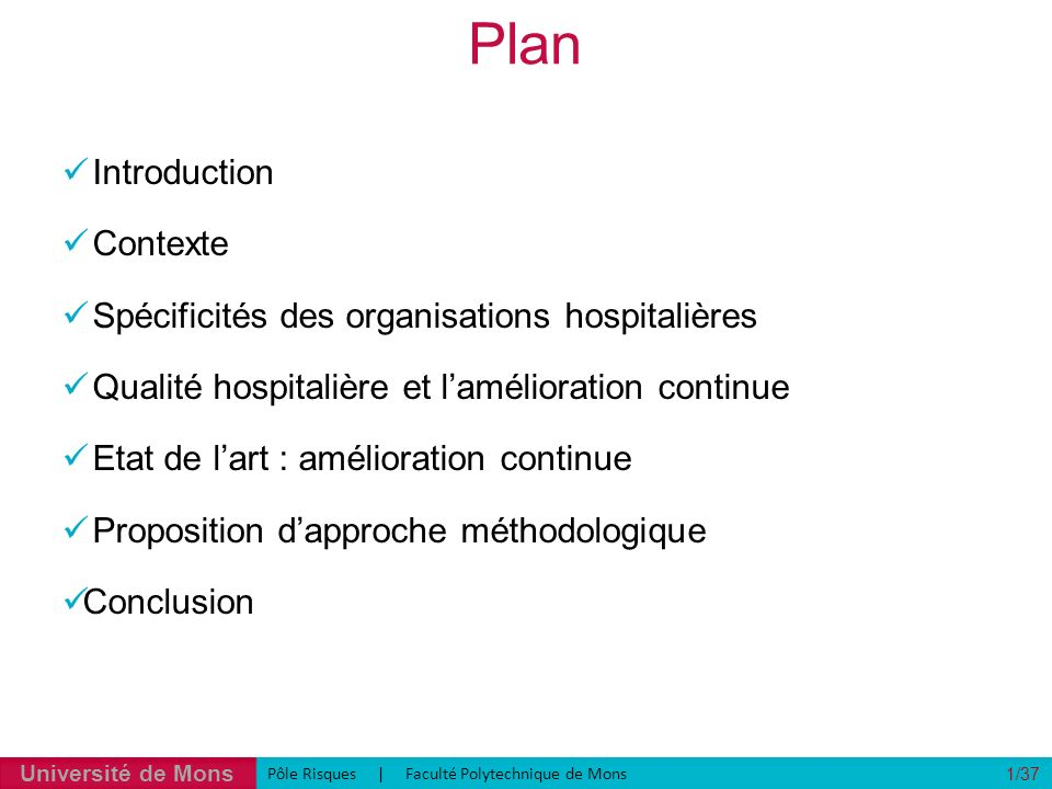 Plan Introduction Contexte