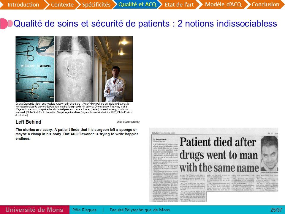 Spécificité du processus hospitalier