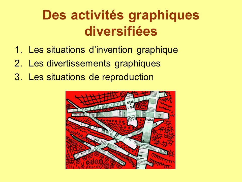 Des activités graphiques diversifiées