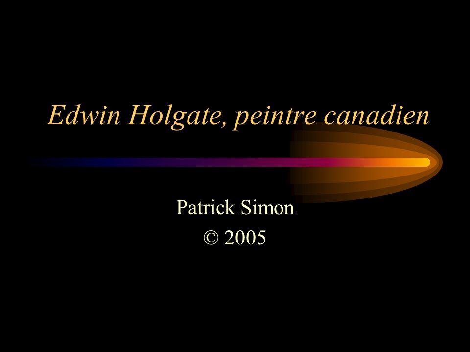 Edwin Holgate, peintre canadien