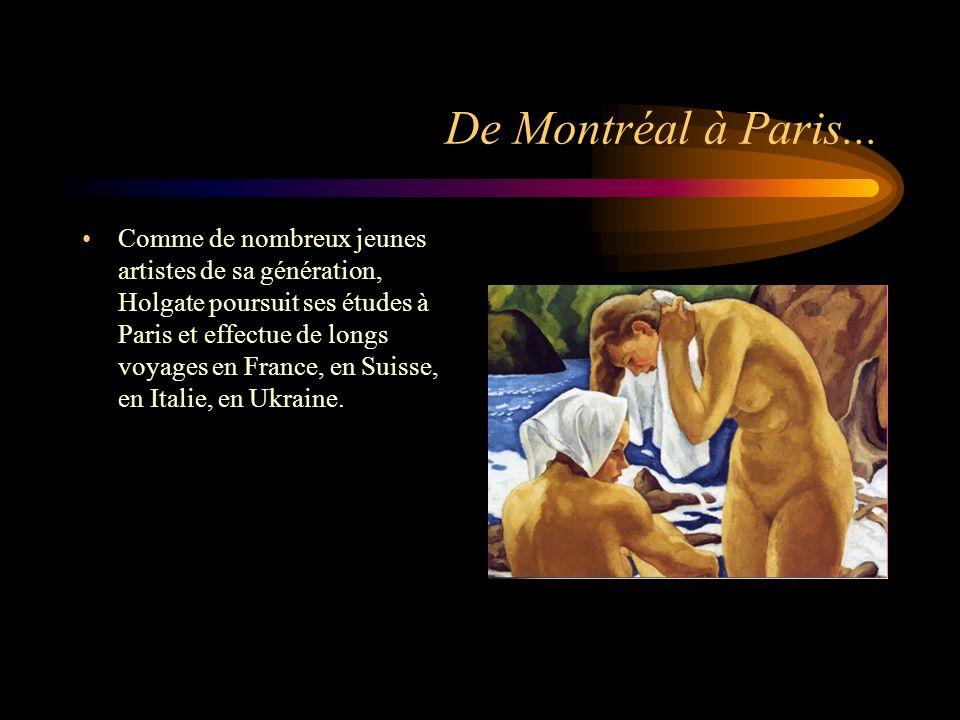 De Montréal à Paris...