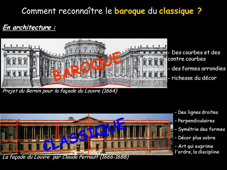 Comment reconnaître le baroque du classique