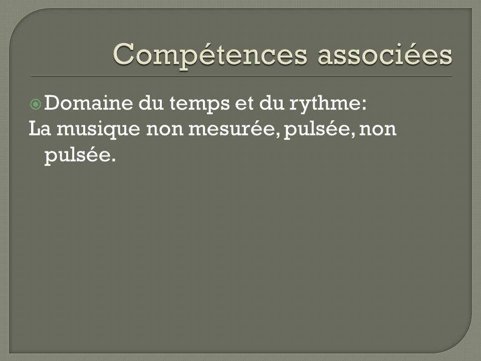 Compétences associées
