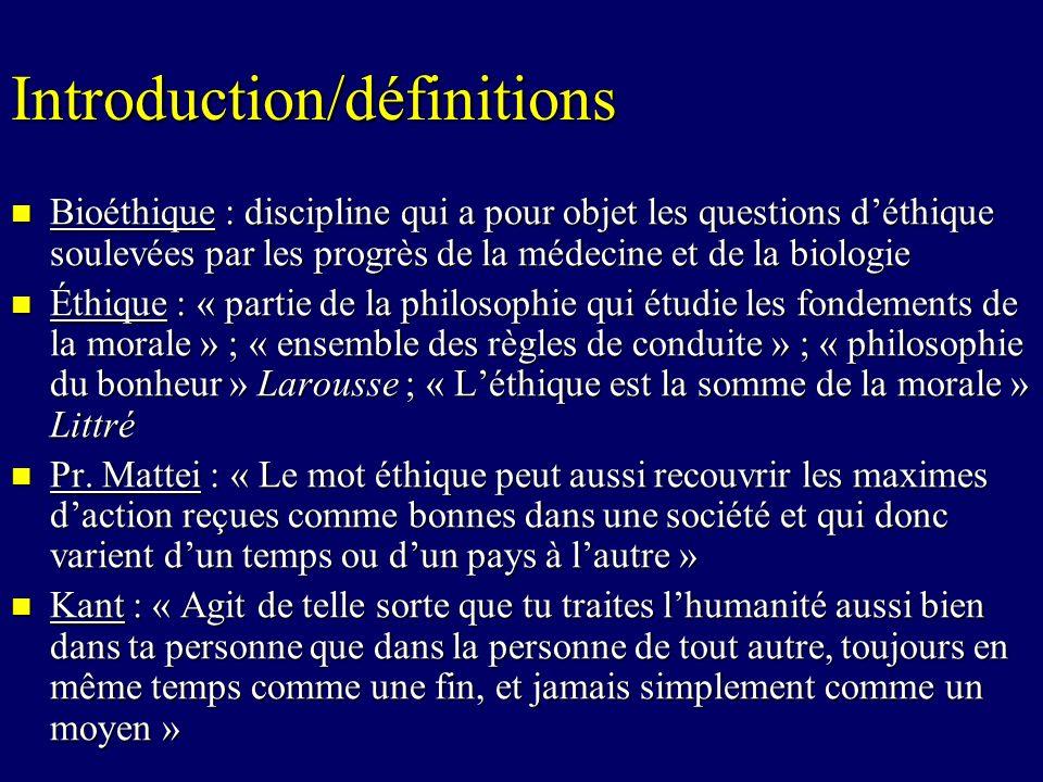 Introduction/définitions