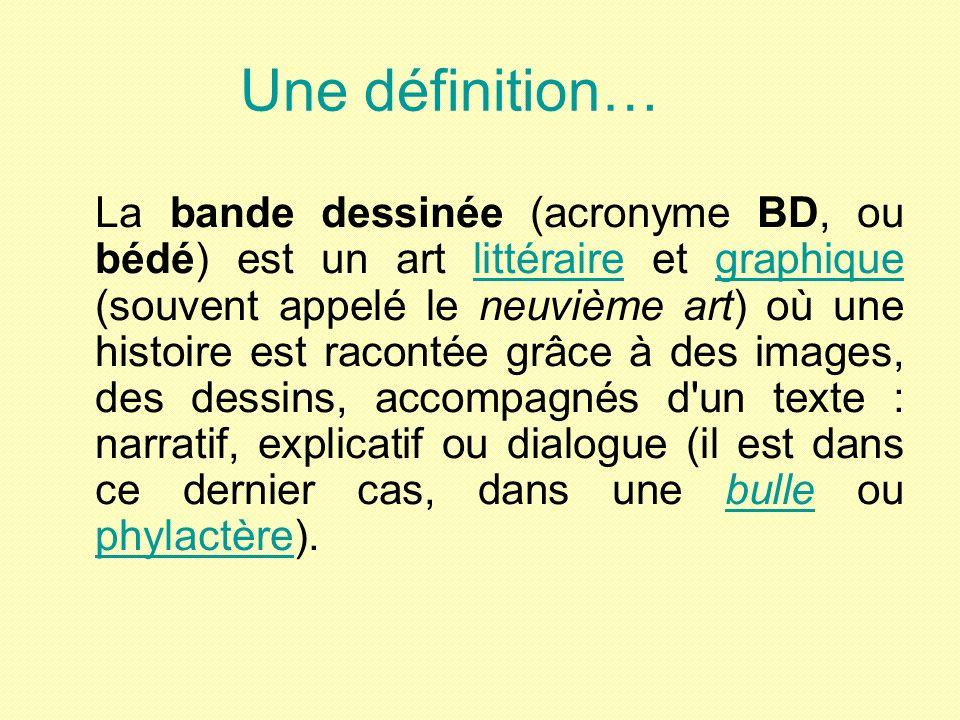 Une définition…