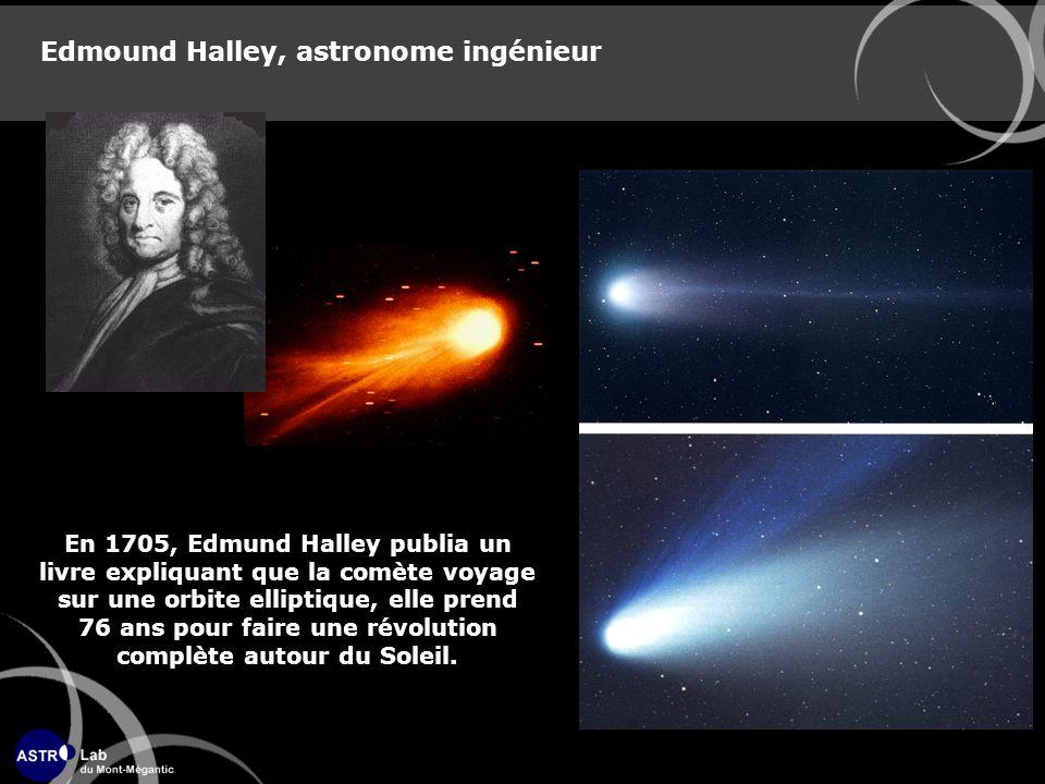 Edmound Halley, astronome ingénieur