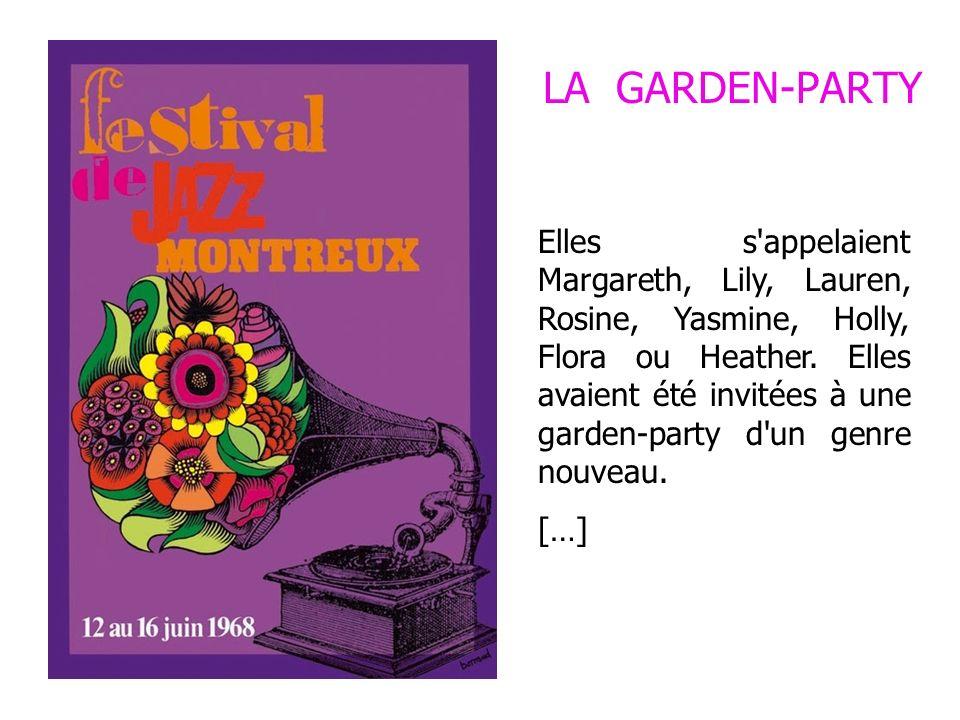 LA GARDEN-PARTY