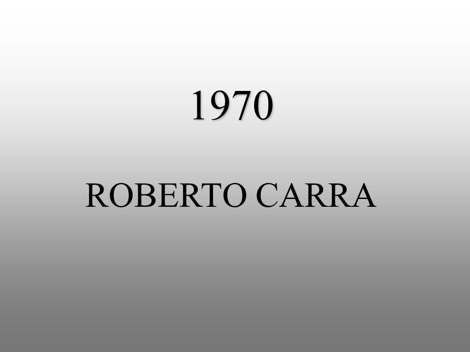 1970 ROBERTO CARRA