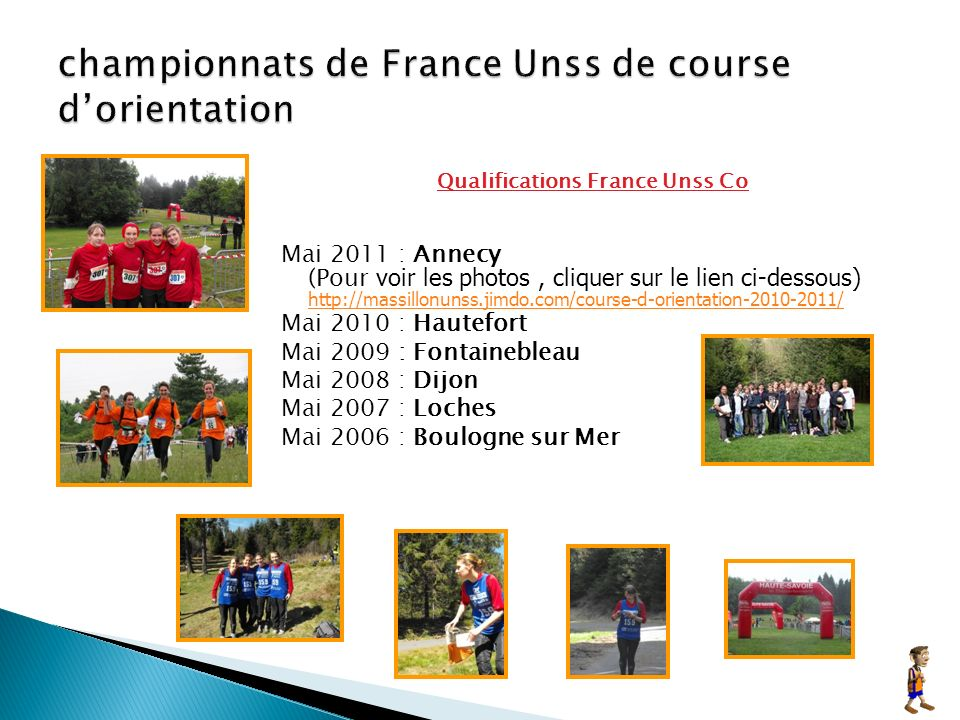 championnats de France Unss de course d'orientation