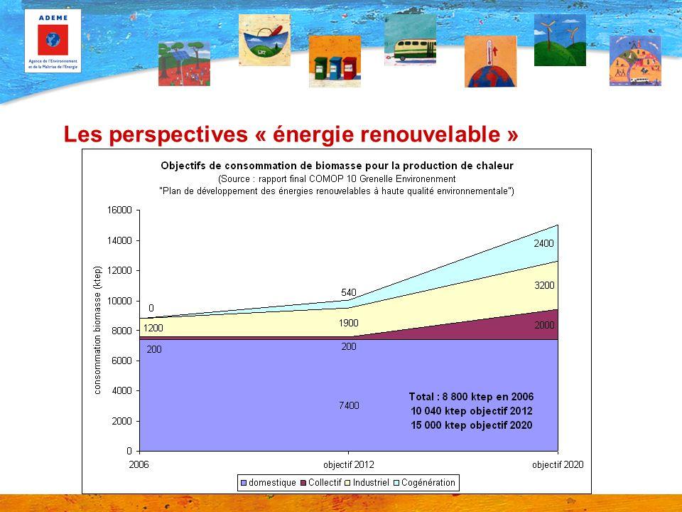 Les perspectives « énergie renouvelable »