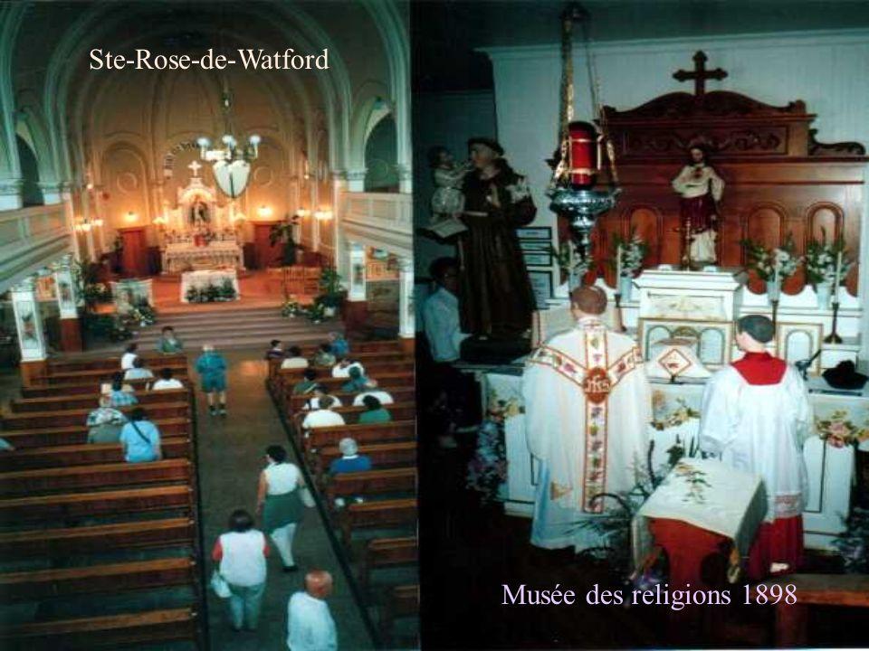 Ste-Rose-de-Watford Musée des religions 1898