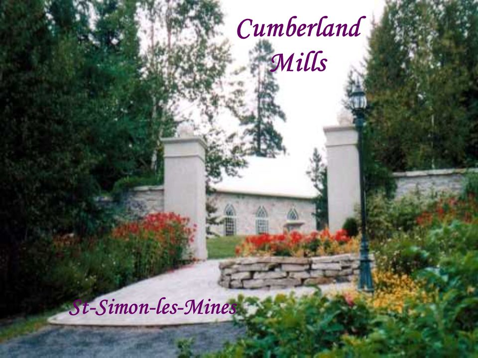 Cumberland Mills St-Simon-les-Mines