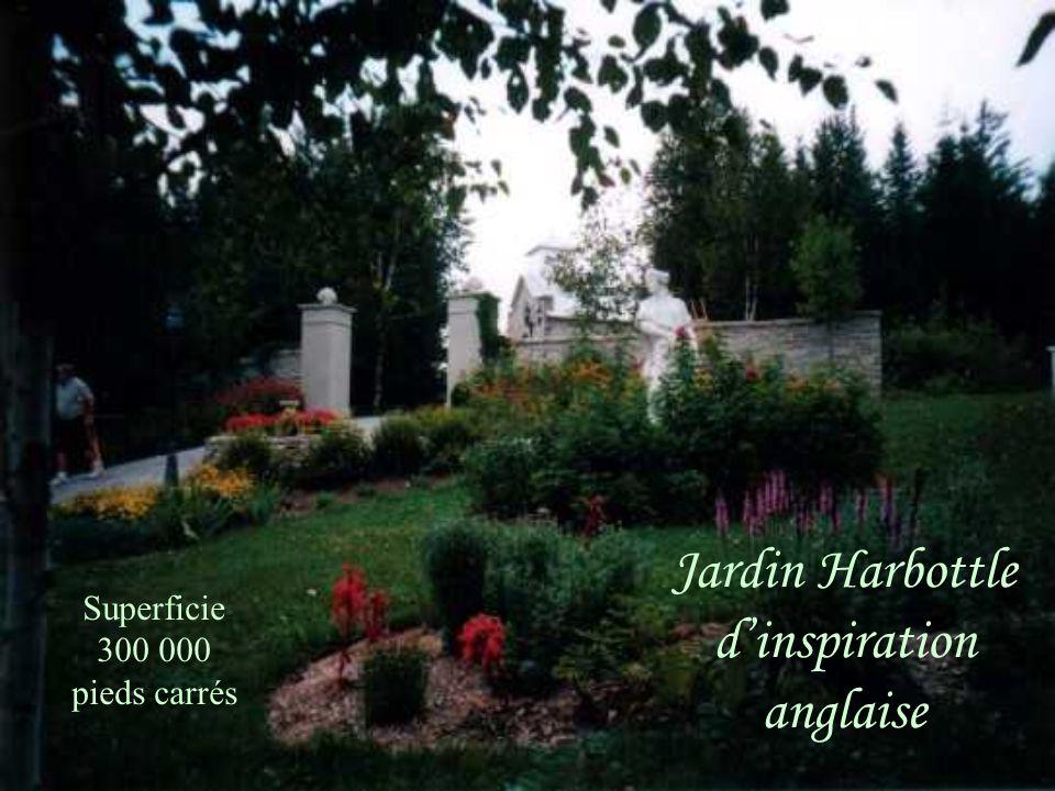 Jardin Harbottle d'inspiration anglaise
