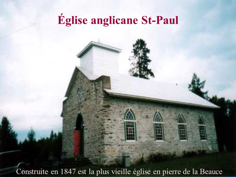 Église anglicane St-Paul