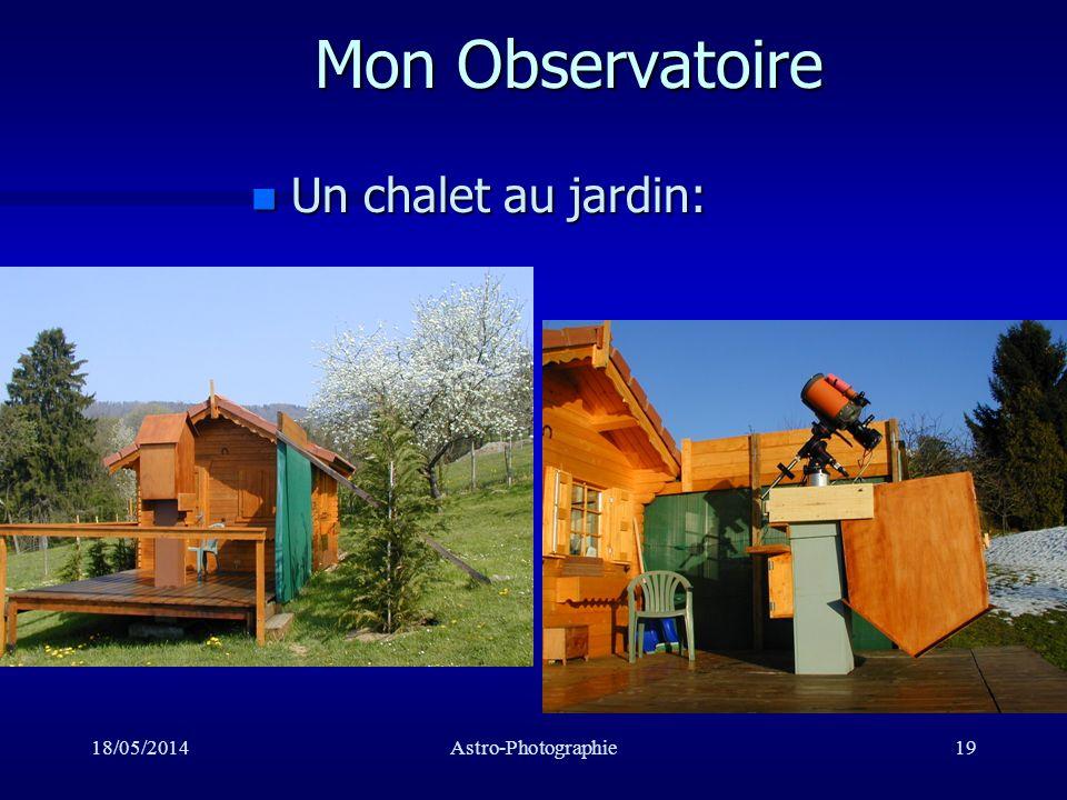 Mon Observatoire Un chalet au jardin: 31/03/2017 Astro-Photographie