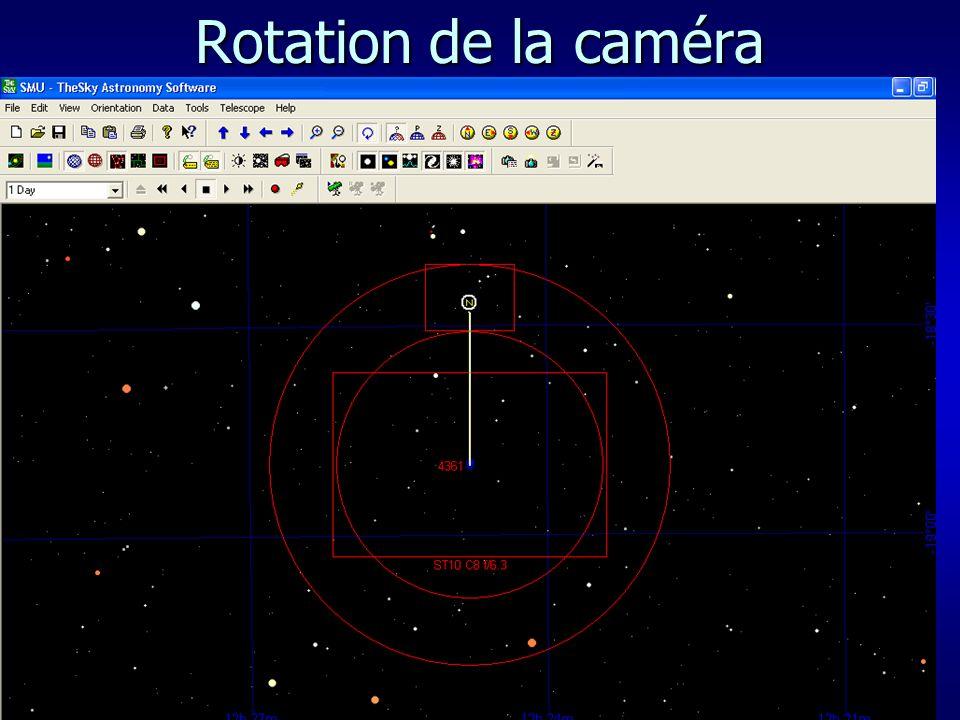Rotation de la caméra 31/03/2017 Astro-Photographie