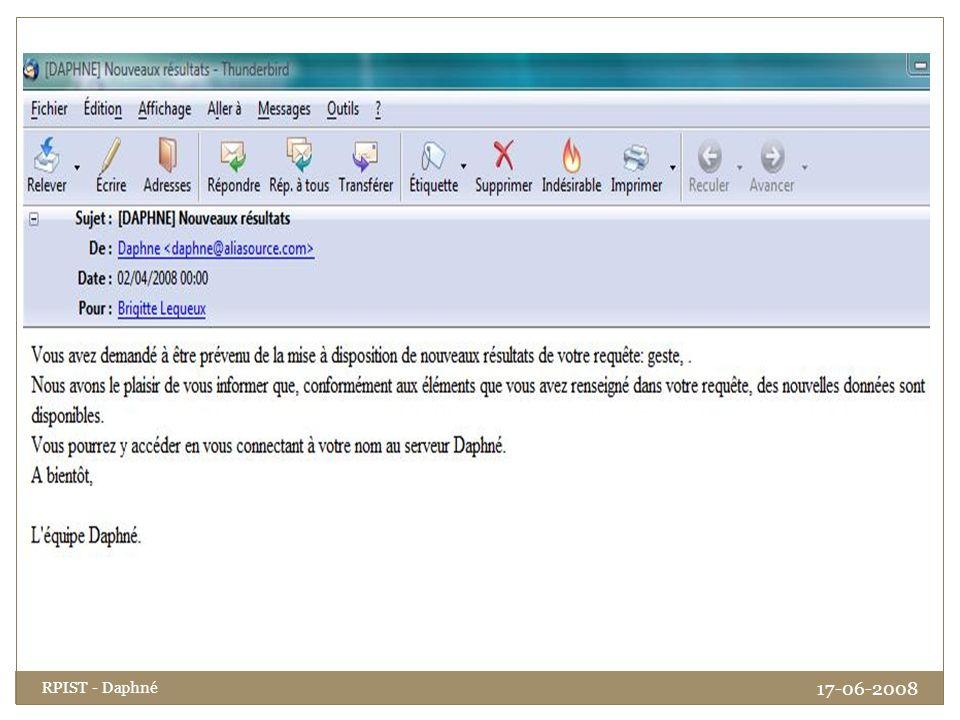RPIST - Daphné 17-06-2008