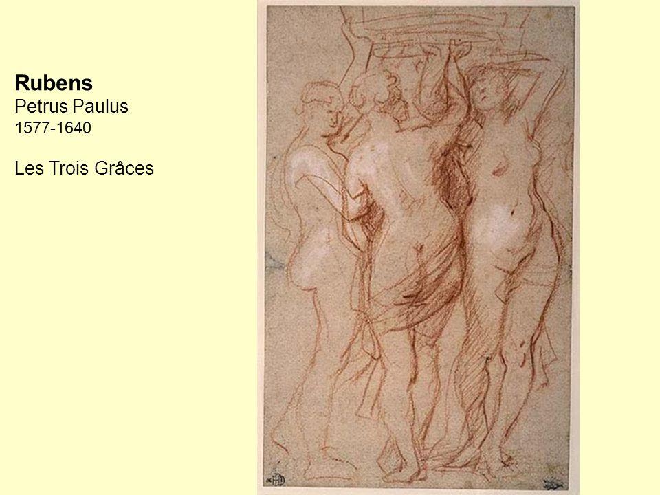 Rubens Petrus Paulus 1577-1640 Les Trois Grâces