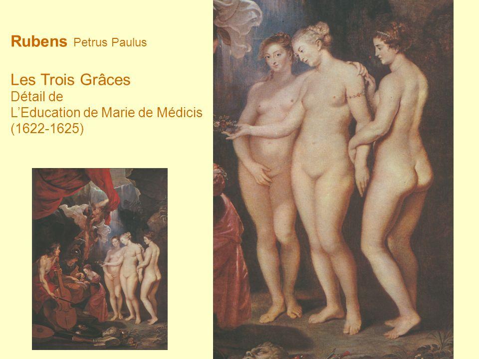 Rubens Petrus Paulus Les Trois Grâces Détail de