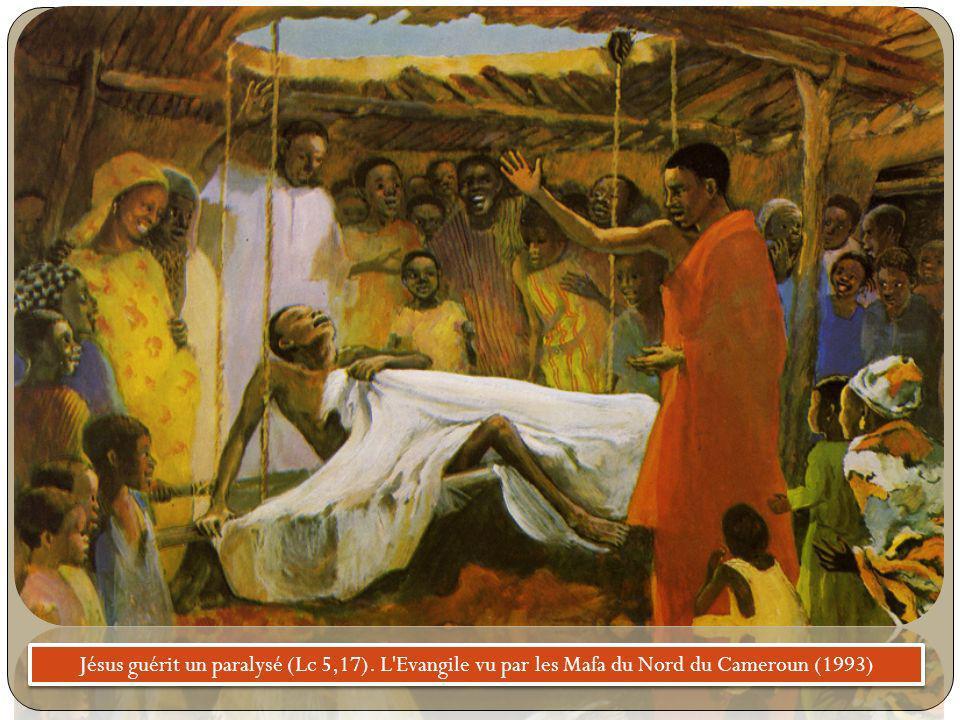 Jésus guérit un paralysé (Lc 5,17)