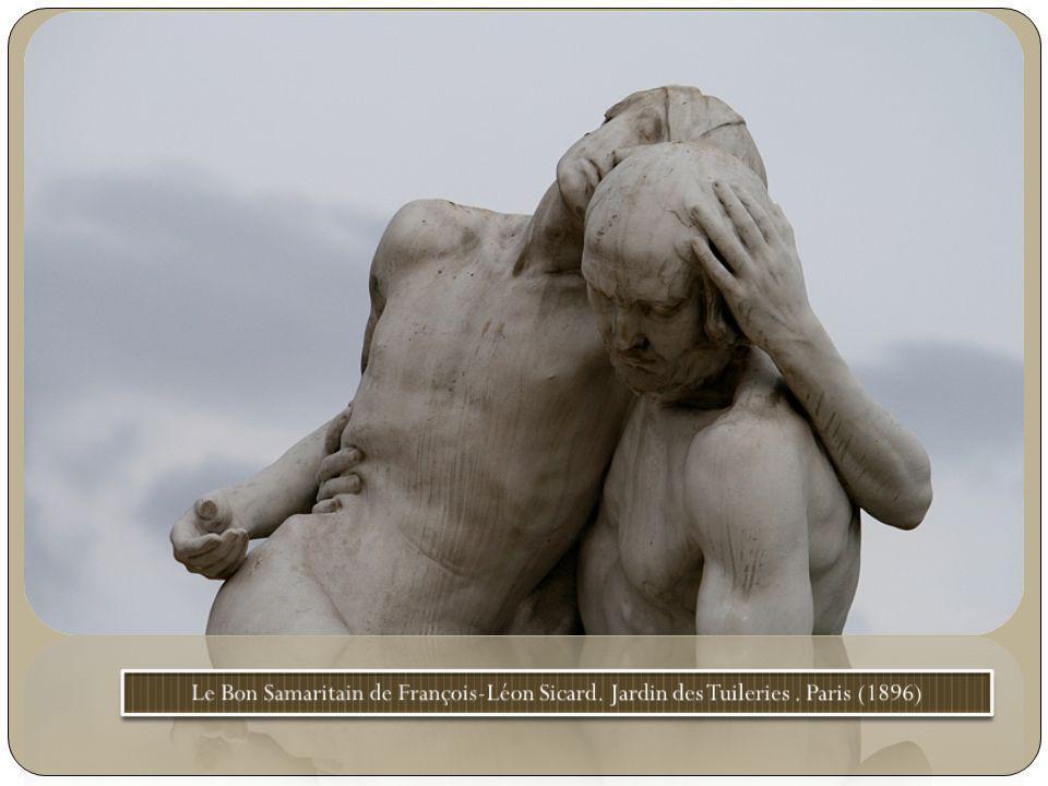 Le Bon Samaritain de François-Léon Sicard. Jardin des Tuileries