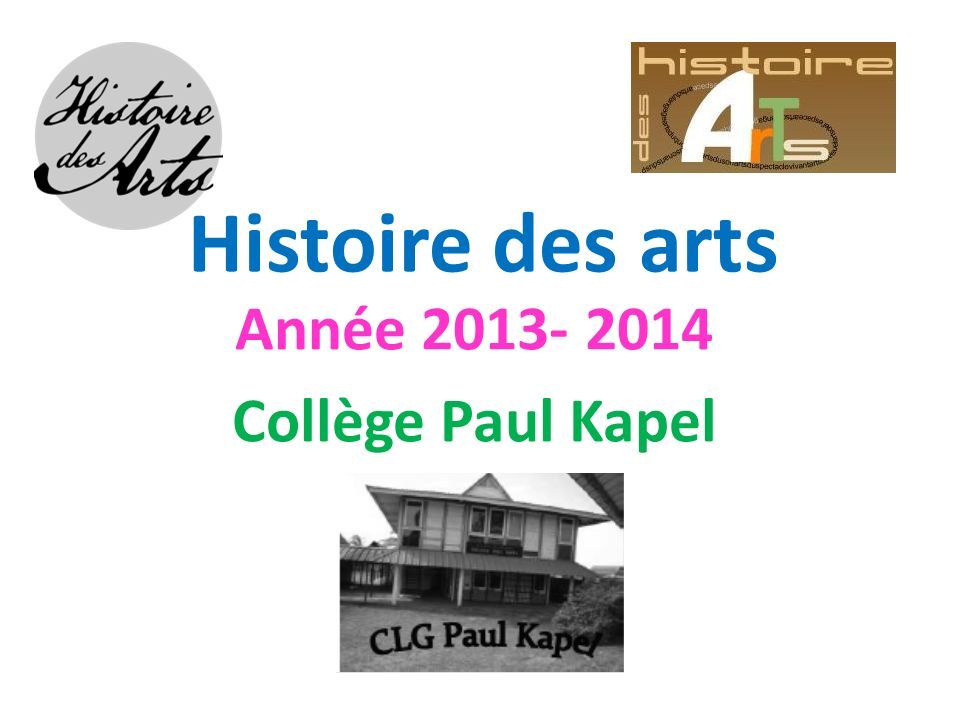 Année 2013- 2014 Collège Paul Kapel